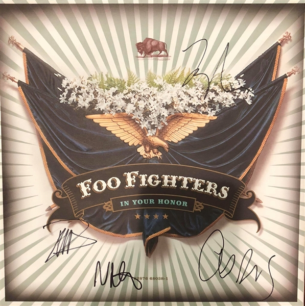 The Foo Fighters Signed In Your Honor Limited Edition Box Set (Beckett/BAS Guaranteed)