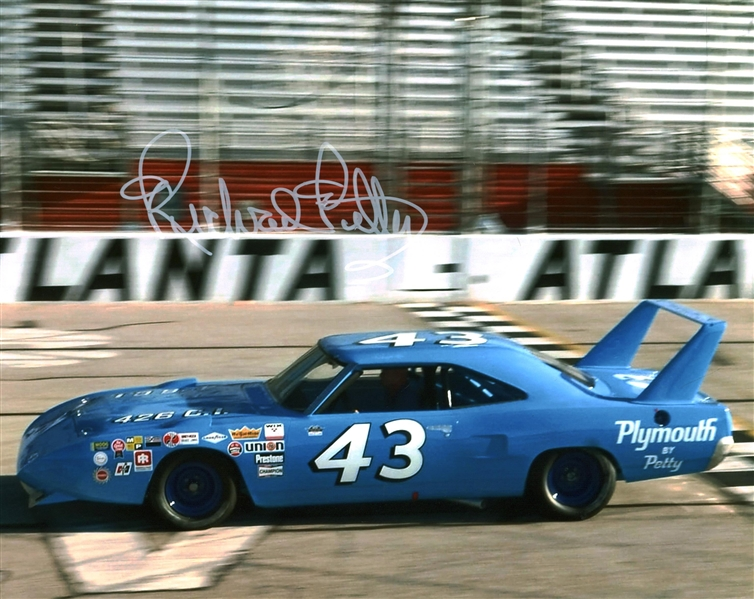 Richard Petty Lot of Two (2) Signed 8 x 10 Photographs (Beckett/BAS Guaranteed)
