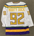 The Mighty Ducks Multi-Signed Movie Jersey (Beckett/BAS)