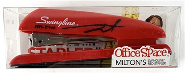"Office Space: Stephen Root Signed ""Milton"" Model Stapler! (Beckett/BAS Guaranteed)"