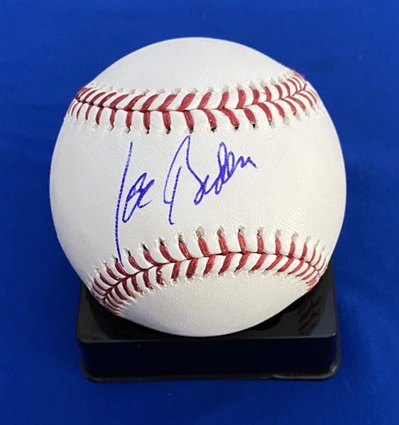 Joe Biden Single Signed OML Baseball (Beckett/BAS LOA)
