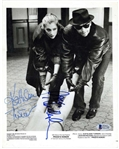 "Jack Nicholson & Kathleen Turner Dual-Signed 8"" x 10"" Promotional Photograph from ""Prizzis Honor"" (Beckett/BAS)"