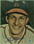 "Stan Musial Signed 8"" x 10"" Photograph (PSA/DNA)"