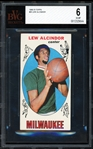 1969-70 Topps Lew Alcindor #25 Rookie Card :: BVG Graded EX-MT 6!