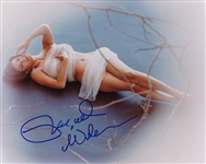 "Racquel Welch In-Person Signed 8"" x 10"" Color Photo with Signing Proof (Beckett/BAS Guaranteed)"