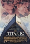 Titanic RARE Cast Signed Full Sized Movie Poster with DiCaprio, Winslet, Cameron & Others (Beckett/BAS & JSA LOAs)