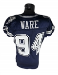 DeMarcus Ware Signed & Game Worn 2010 Dallas Cowboys Away Jersey During 15.5 Sack Campaign! (JSA & MEARS Guaranteed)