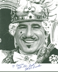 "Mel Brooks Signed 8"" x 10"" B&W Photograph (Beckett/BAS)"