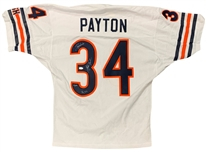 Walter Payton Signed Chicago Bears Jersey with Handwritten Stats (Steiner Sports)
