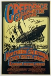 "John Fogerty Signed original 1969 First Printing 21"" x 14"" Concert Poster (Beckett/BAS Guaranteed)"
