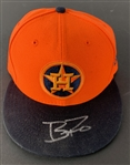 Brad Peacock Signed & Game Worn Houston Astros Players Weekend Aug 26th, 2018 Baseball Cap w/ Possible Evidence of Cheating! (PSA/DNA)