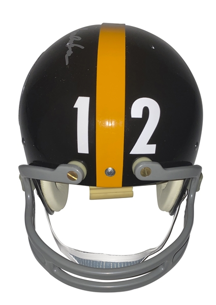Terry Bradshaw Signed ULTRA-RARE Personal Model Suspension Pittsburgh Steelers Helmet (JSA)
