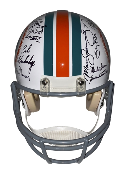 1972 Miami Dolphins (Perfect Season) Team Sized Full Sized  PROLINE Helmet w/26 Sigs (JSA Witness)