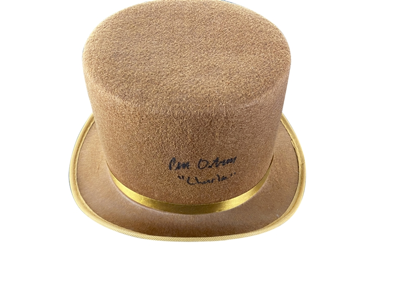 Peter Ostrum Signed Willy Wonka and the Chocolate Factory Full Size Hat (JSA)