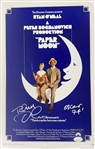 "Tatum ONeal Signed ""Paper Moon"" Mock 17"" x 11"" Poster (JSA)"