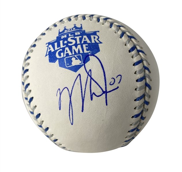 Mike Trout Signed Rookie 2012 All-Star OML Baseball (PSA/DNA)