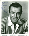 "Sean Connery Signed & Inscribed 8"" x 10"" B&W Studio Publicity Photograph for ""Marnie"" (JSA)"