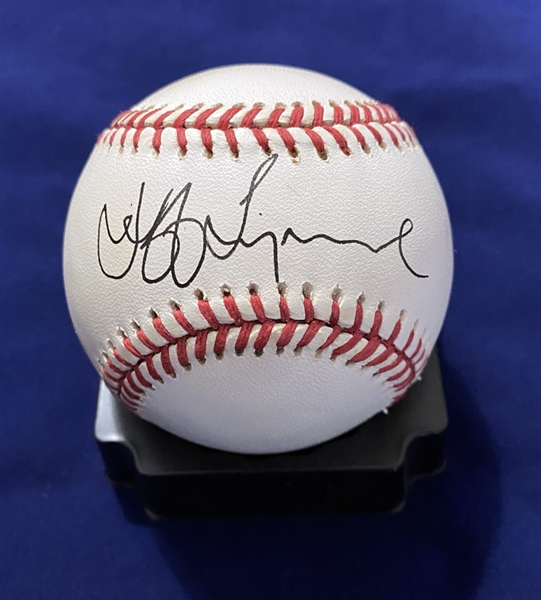 ELO: Jeff Lynne Superb Single-Signed ONL Baseball (Beckett/BAS Guaranteed)