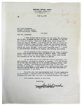 Gone With The Wind: Margaret Mitchell Signed 1948 Letter on Personal Letterhead (Beckett/BAS Graded MINT 9)