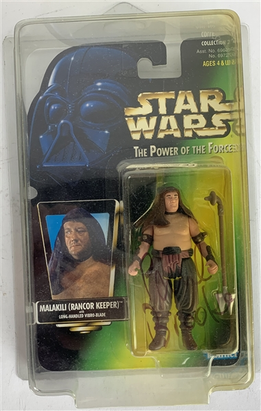Paul Brooke Signed The Power of the Force Kinner Figurine (Beckett/BAS Guaranteed)