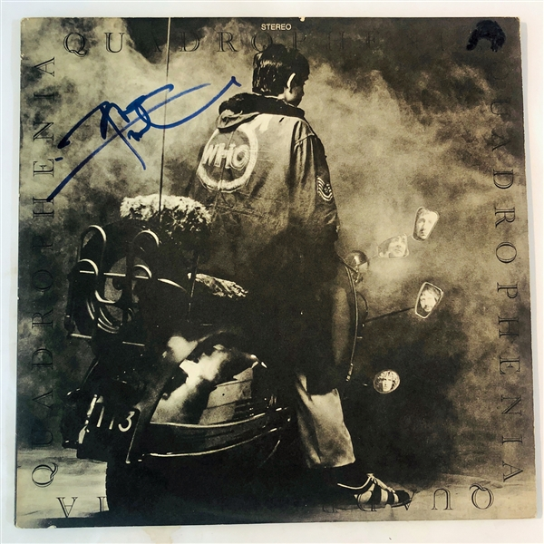 The Who: Pete Townshend Signed Quadrophenia Record Album (John Brennan Collection)(Beckett/BAS Guaranteed)