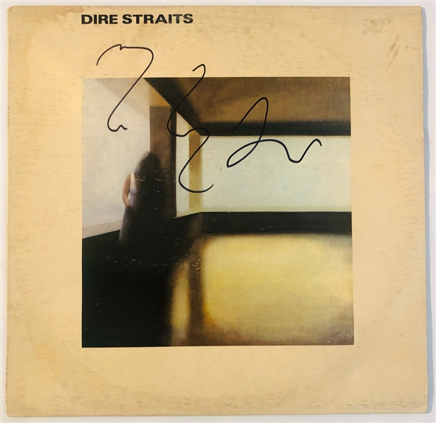 Dire Straits: Mark Knopfler In-Person Signed Record Album (John Brennan Collection)(Beckett/BAS Guaranteed)