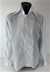 Elvis Presley Owned & Worn White Button Down Shirt w/ Exact Photo-match! (ex. Tom Hulett)