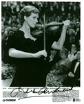 "Julie Andrews Signed 8"" x 10"" B&W Press Kit Photograph (Beckett/BAS)"