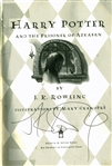 J.K. Rowling Signed 1st Edition Harry Potter & The Prisoner of Azkaban Hardcover Book (JSA)