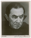 "Bela Lugosi ULTRA-RARE Signed 8"" x 10"" Black & White Dracula Promotional Photograph (Beckett/BAS)"