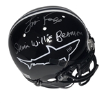 "Jamie Foxx ""Any Given Sunday"" Signed Replica Sharks Helmet w/ ""Steamin Willie Beamen"" Inscritpion (Beckett/BAS Guaranteed)"