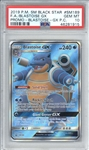 Blastoise GX 2019 Pokemon Sun & Moon Black Star Promo Trading Card - PSA Graded GEM MINT 10