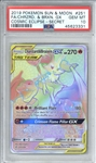 Charizard & Braixen GX 2019 Pokemon Sun & Moon Cosmic Eclipse Secret Card - PSA Graded GEM MINT 10!