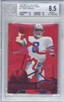 Troy Aikman 1997 Metal Universe Precious Metal Gems /150 Card (Beckett/BGS Graded NM-MT+ 8.5)