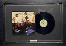 "The Eagles Superb Group Signed ""Hotel California"" Album w/ All 5 Signatures! (JSA & REAL/Epperson)"