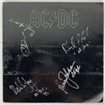 "AC/DC Ultra-Rare Group Signed ""Back In Black"" Album w/ All Five Members! (JSA)"