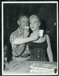 "Marilyn Monroe Signed 8"" x 10"" Original Photograph w/ ""Theres Nothing Like Your Coffee"" Inscription! (PSA/DNA)"