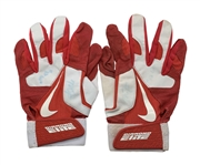 Mike Trout Game Used/Worn & Signed 2012 Rookie Batting Gloves (Anderson Authentics & Beckett/BAS)