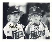 "Mary Kate & Ashley Olsen ULTRA-RARE Vintage c. 1993 Dual Signed 8"" x 10"" Photograph - The Only Known Authenticated Example! (JSA)"