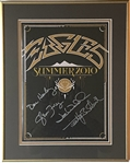 "Eagles In-Person Group Signed 2010 ""Summer Tour"" Program (Beckett/BAS Guaranteed)"