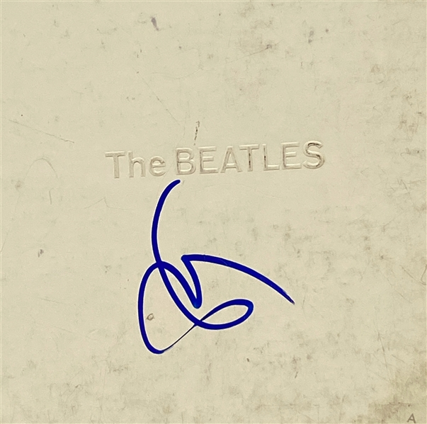 "Eric Clapton In-Person Signed The Beatles ""White"" Record Album (John Brennan Collection) (Beckett/BAS Guaranteed)"