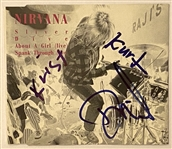 "Nirvana In-Person Group Signed ""Sliver"" UK Single CD (John Brennan Collection) (BAS Guaranteed)"