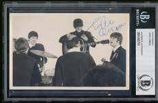"The Beatles: John Lennon Superb Signed 3.5"" x 5.5"" Photo from 1964 with ""A Hard Days Night"" Association (Beckett/BAS Encapsulated)"