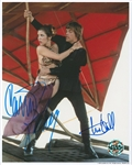 "Star Wars: Carrie Fisher & Mark Hamill Signed 8"" x 10"" Official Pix Photograph from ""Return of the Jedi"" (Beckett/BAS LOA)"