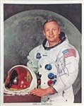 "Neil Armstrong RARE UNINSCRIBED Signed Official 8"" x 10"" Nasa Photograph (JSA LOA)"