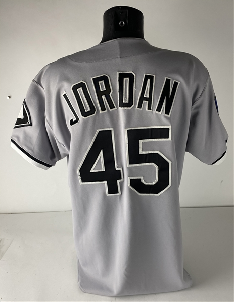Michael Jordan 1994 Game Issued/Pre-Season Used Chicago White Sox Jersey (Sports Investors)