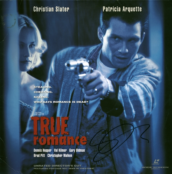 Gary Oldman Signed True Romance Soundtrack LP (Beckett/BAS Guaranteed)