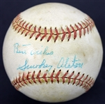 "Walt ""Smokey"" Alston Signed MacGregor Official League Baseball (PSA/DNA)"