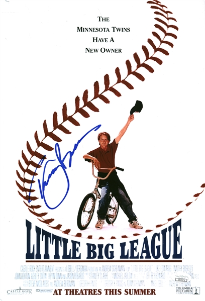 Timothy Busfield Signed 10 x 15 Little Big League Poster (JSA)