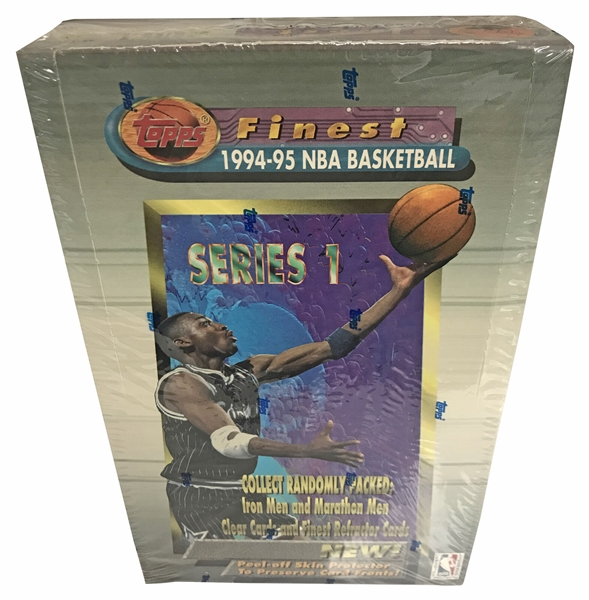 1994-95 Topps Finest Series 1 Basketball Hobby Box - Factory Sealed!